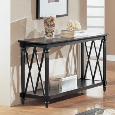 Cheap Anthony California Console Table in Espresso (ANY1006)