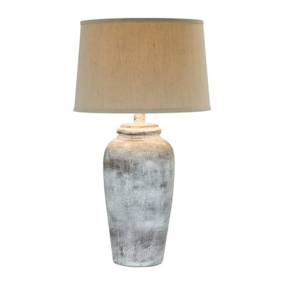 30.5 Table Lamp Base Color: Stone Rock White
