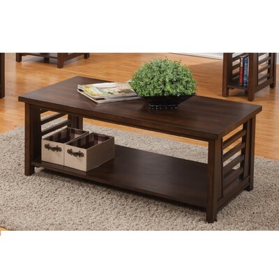 Alvina Cherry Walnut Coffee Table