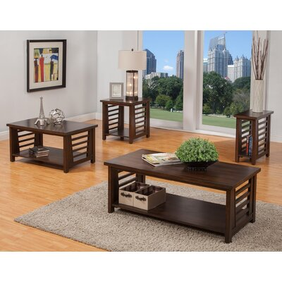 Alvina 4 Piece Coffee Table Set
