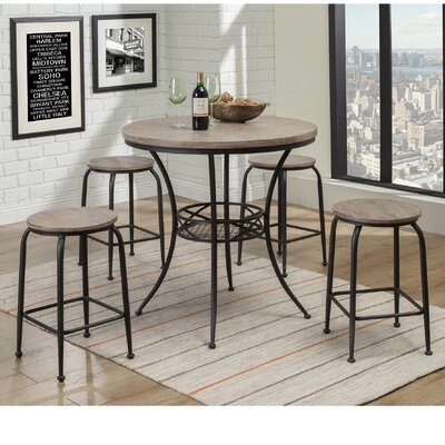 Cheyne 5 Piece Pub Table Set
