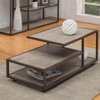 Colburn Coffee Table Size: 19 H x 48 W x 40 D