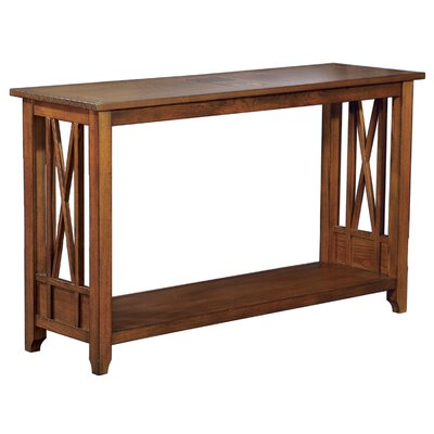 Cheap Anthony California Console Table in Cognac (ANY1405)