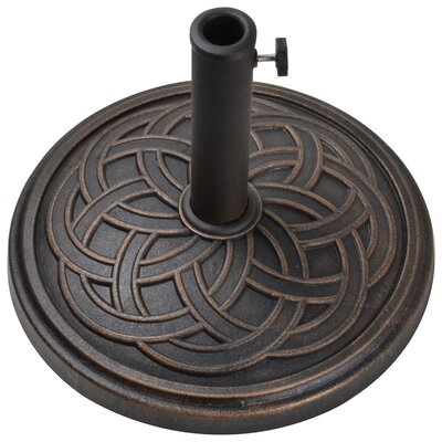 Stone Free Standing Umbrella Base Finish: Antique Bronze