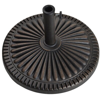 Veranda Envirostone Umbrella Base Finish: Antique Bronze