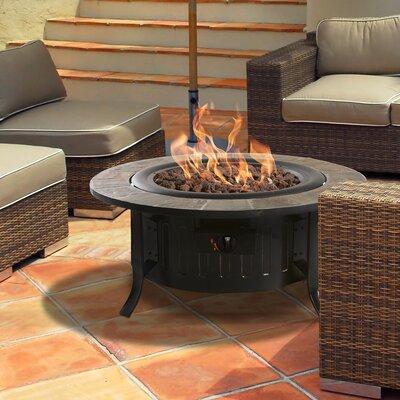 Bond 66637 Bolen Steel Outdoor Gas Table Top Fireplace