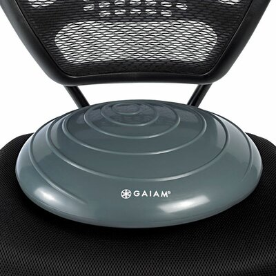 Balance Disc Wasabi Seat Cushion Color: Gray