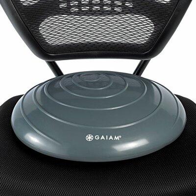 Balance Disc Wasabi Seat Cushion Color: Gray