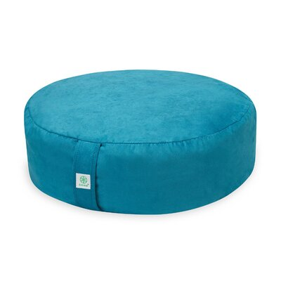 Zafu Teal Bean Bag Chair Upholstery: Teal