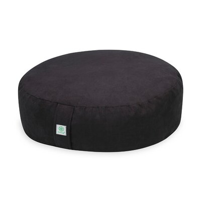 Zafu Teal Bean Bag Chair Upholstery: Black