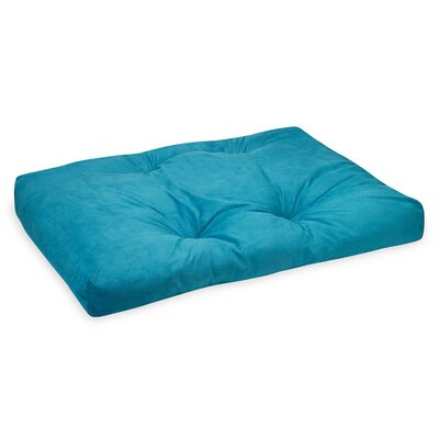 Zabuton Teal Bean Bag Cover Upholstery: Teal