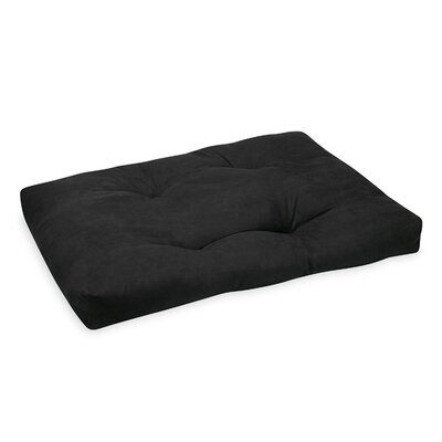 Zabuton Teal Bean Bag Cover Upholstery: Black