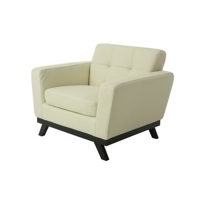 Pastel Furniture Qarchak Club Chair  - Color: Ivory at Sears.com
