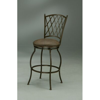 In store financing Atrium Swivel Barstool in Autumn Ru...