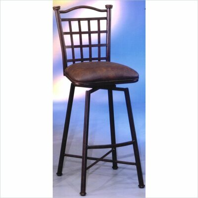 Bad credit financing Bay Point Swivel Barstool with Flor...