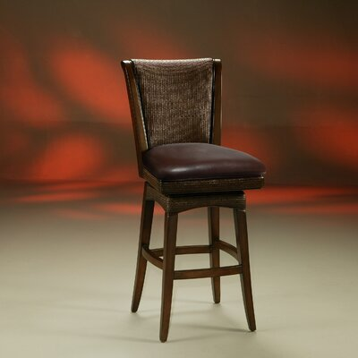 Rent to own Mandalay Swivel Barstool in Russet ...