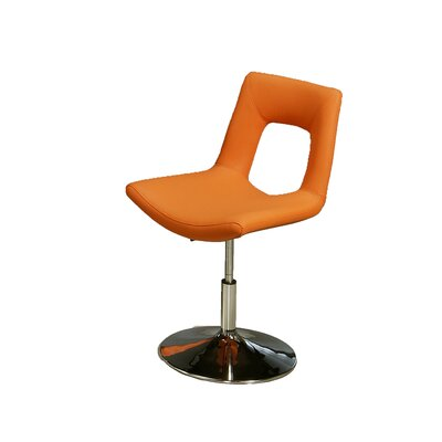 In store financing Dublin Side Chair Upholstery: Orang...