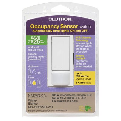 Occupancy Sensor Switch