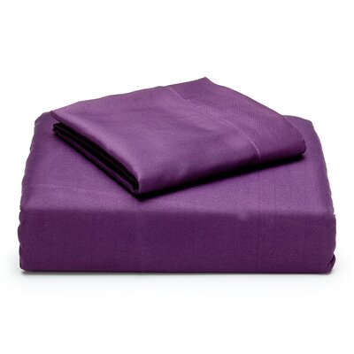 Microfiber Sheet Set in Plum