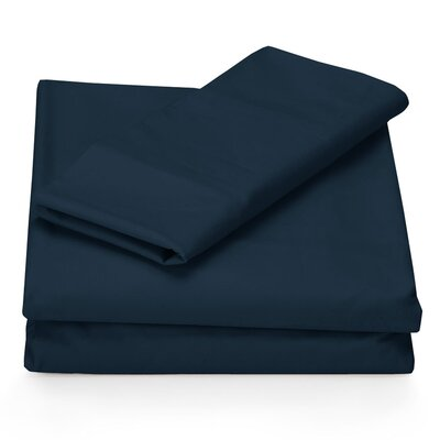 Perry Ellis Microfiber Sheet Set in Plum | Wayfair