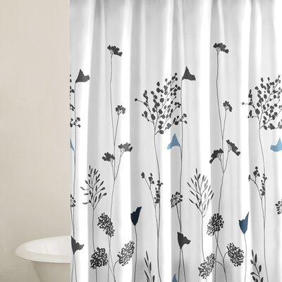 Buy Low Price Perry Ellis Asian Lily Shower Curtain In
