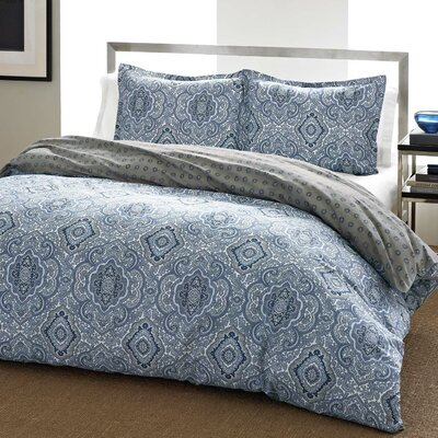City Scene Milan Comforter Set - Size: Full/Queen, Color: Blue at Sears.com