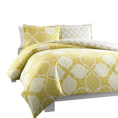 Wonderlust Duvet Cover Set Size: Twin