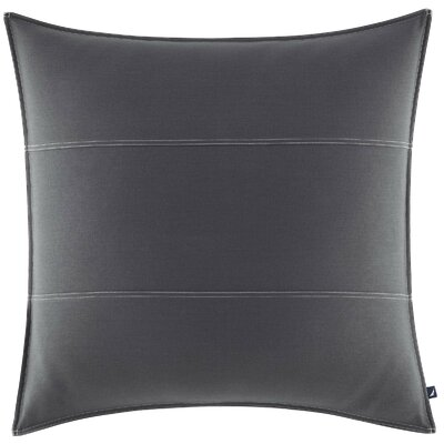 Seaward European Sham Color: Charcoal