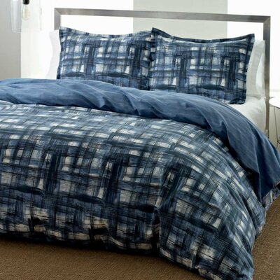 Ink Wash Duvet Cover Set Size: King