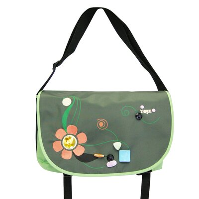 Jewel Messenger Bag in Green