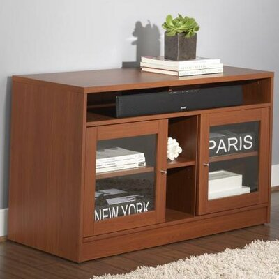 47 TV Stand Color: Cherry Laminate