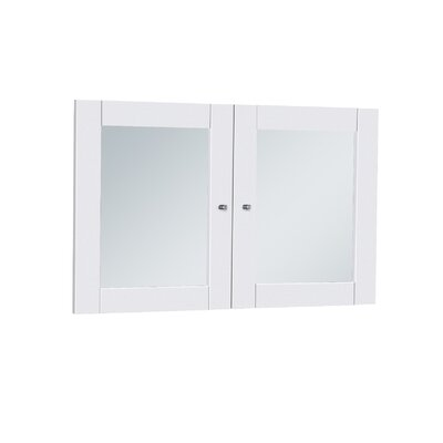 Buragate 20 H x 30 W Desk Hutch Door Finish: White