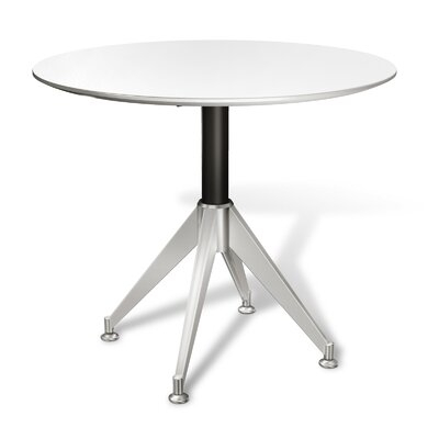 Prestige Collection Circular 29H x 36W x 36L Conference Table Finish: White