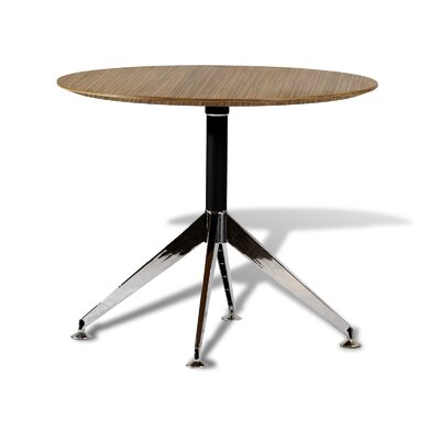 Prestige Collection Circular 29H x 36W x 36L Conference Table Finish: Zebrano
