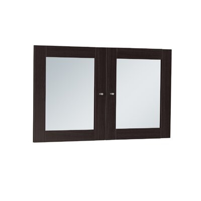 Buragate 20 H x 30 W Desk Hutch Door Finish: Espresso