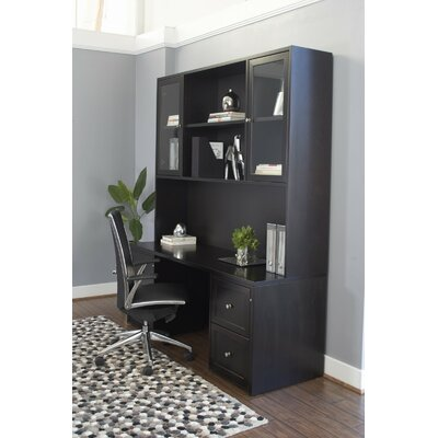 Executive Desk with Hutch and Pedestal Product Image 453
