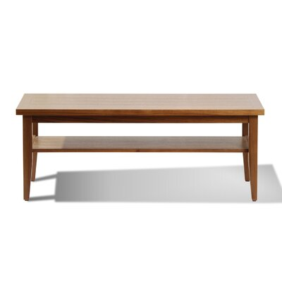 Wood Coffee Table Color: Veneer