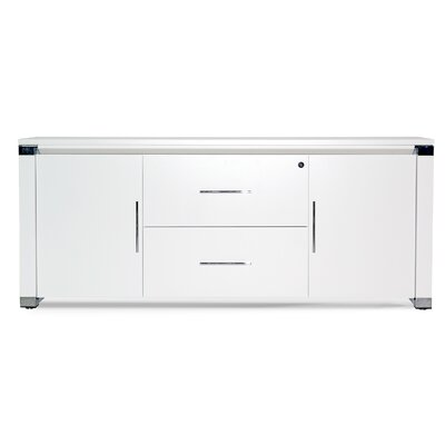 500 Collection 2 Door Credenza Finish: White Lacquer Product Image 623