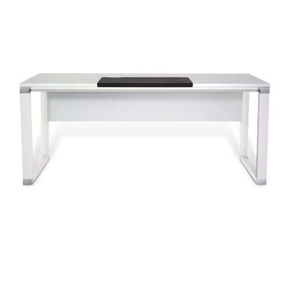 500 Series Computer Desk Finish: White Lacquer Product Picture 130