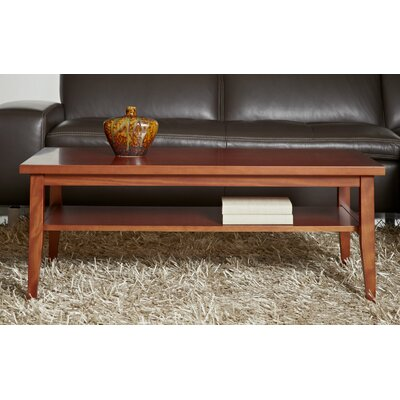 Wood Coffee Table Finish: Cherry Wood Veneer