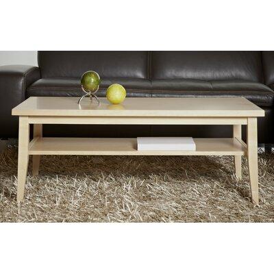 Wood Coffee Table Color: Maple Wood Veneer