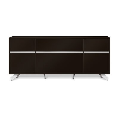 Manhattan Collection Sideboard Color: Espresso