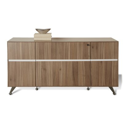 Manhattan Collection Sideboard Color: Walnut