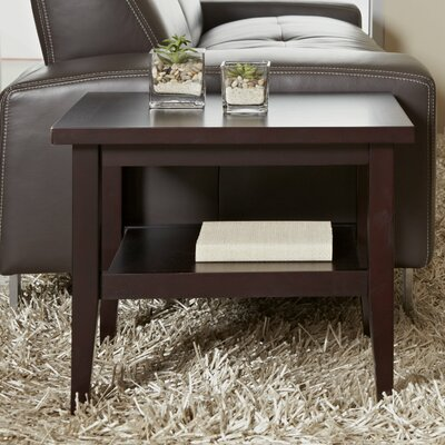 Wood End Table Color: Espresso