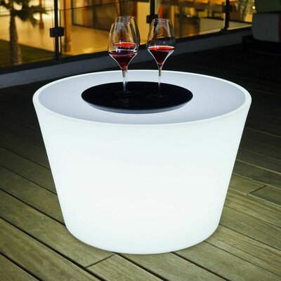 Bass Luminous Coffee Table Size: 31.5 x 31.5