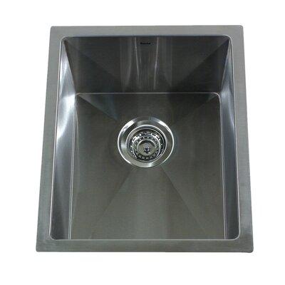 Pro Series 18 x 15 Undermount Bar-Prep Kitchen Sink
