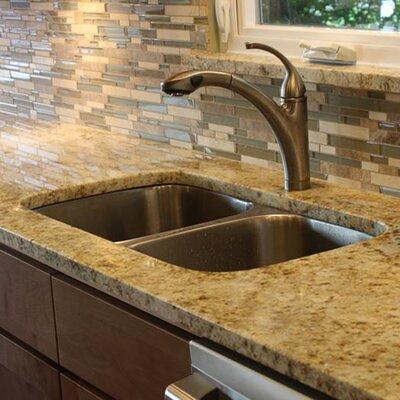 Sconset 31.57 x 17.97 Double Bowl Undermount Kitchen Sink