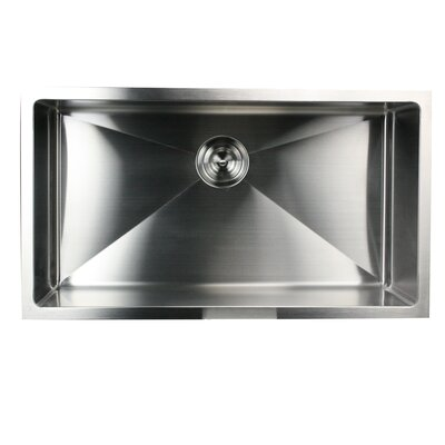 Pro Series 32 x 18 Small Radius Stainless Steel Kitchen Sink