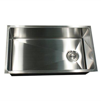 Pro Series 32 x 18 Small Radius Stainless Steel Kitchen Sink