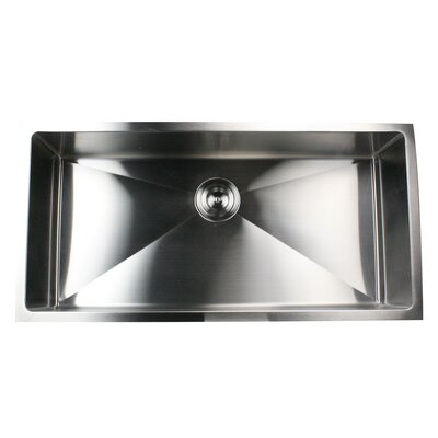 Pro Series 36 x 18 Small Radius Stainless Steel Kitchen Sink